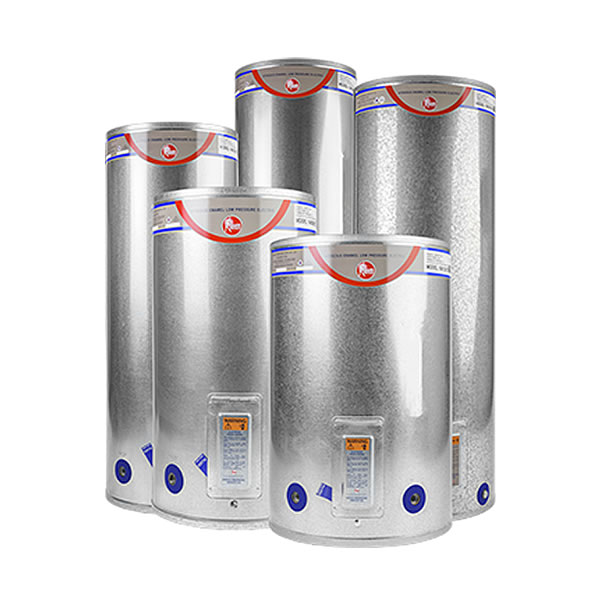 Rheem low pressure electric water heaters